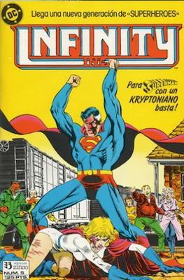 Infinity Inc. (1986-1988) (Grapa) #5