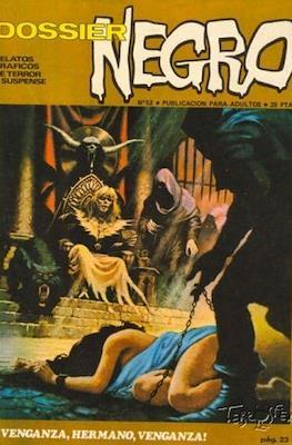 Dossier Negro (Rústica y grapa [1968 - 1988]) #52