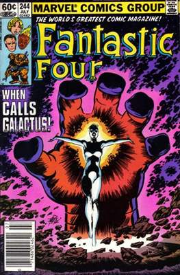 Fantastic Four Vol. 1 (1961-1996) (saddle-stitched) #244