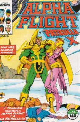 Alpha Flight Vol. 1 / Marvel Two-in-one: Alpha Flight & La Masa Vol.1 (1985-1992) (Grapa 32-64 pp) #24