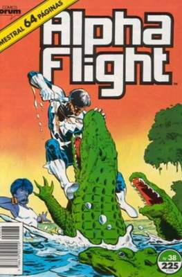 Alpha Flight Vol. 1 / Marvel Two-in-one: Alpha Flight & La Masa Vol.1 (1985-1992) (Grapa 32-64 pp) #38