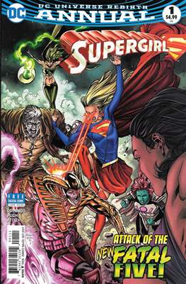 Supergirl Vol. 7 Annual (2017)