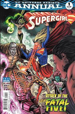 Supergirl Vol. 7 Annual (2017) (Comic book) #1