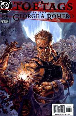 Toe Tags Featuring George A. Romero (Comic Book 24 pp) #6