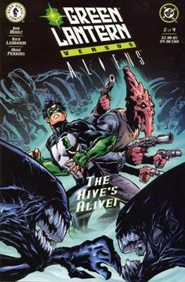 Green Lantern versus Aliens (Grapa) #2