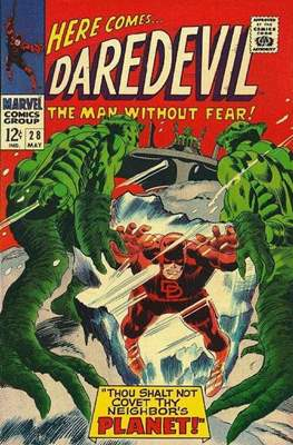 Daredevil Vol. 1 (1964-1998) (Comic Book) #28
