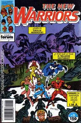 The New Warriors (Comic-Book) #2