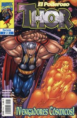 El Poderoso Thor (1999-2002) (Grapa. 17x26. 24 páginas. Color. Vol. 3-4.) #23