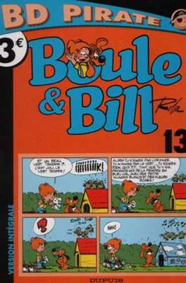 Boule & Bill. Collection Pirate #3