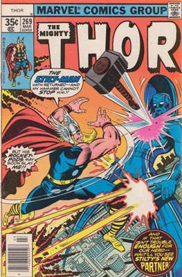 Journey into Mystery / Thor Vol 1 (Comic Book) #269