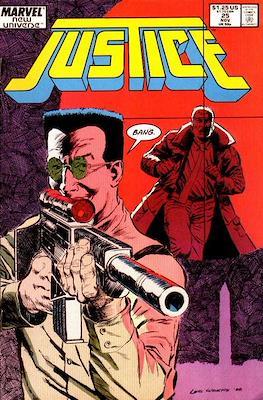 Justice. New Universe (1986) (Grapa.) #25