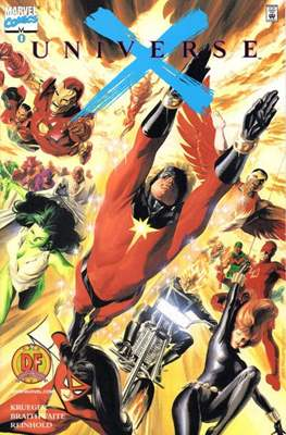 Universe X. Dynamic Forces Variant Covers (Comic-book) #0