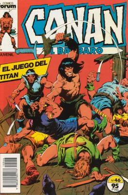 Conan el Bárbaro (1983-1994) (Grapa. 19x27. 36/32/24 páginas. Color.) #46