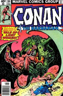 Conan The Barbarian (1970-1993) (Comic Book 32 pp) #104