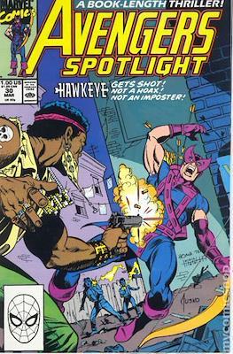 Solo Avengers / Avengers Spotlight (Comic book) #30