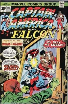 Captain America Vol. 1 (1968-1996) (Comic Book) #186