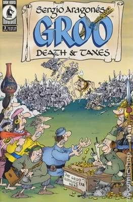 Groo Death and Taxes (2001-2002) (Grapa) #3