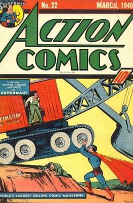 Action Comics Vol. 1 (1938-2011; 2016-) (Comic Book) #22