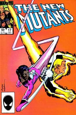 The New Mutants (Grapa) #17