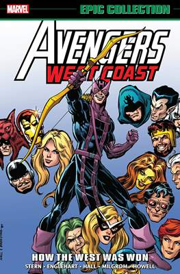 Avengers West Coast Epic Collection (Softcover) #1