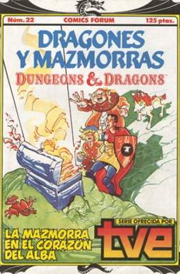 Dungeons and dragons. Dragones y mazmorras (Grapa 32 pp) #22