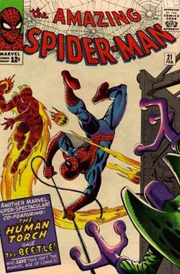The Amazing Spider-Man Vol. 1 (1963-2007) (Comic-book) #21