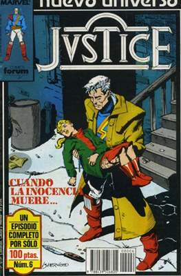 Justice (1988-1989) (Grapa. 17x26. 24 páginas. Color.) #6