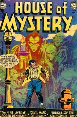 The House of Mystery #7