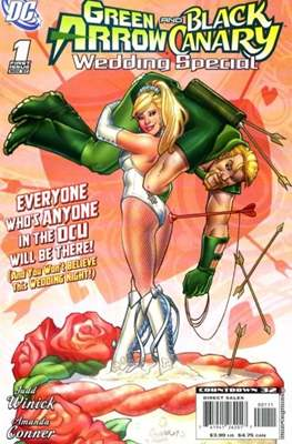 Green Arrow and Black Canary wedding Special (2007)