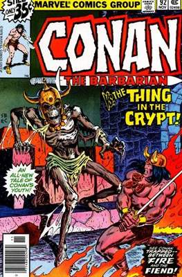 Conan The Barbarian (1970-1993) (Comic Book 32 pp) #92