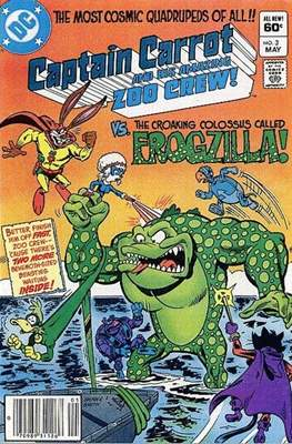 Captain Carrot and his amazing Zoo Crew (Comic Book) #3