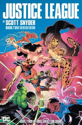 Justice League by Scott Snyder The Deluxe Edition #2