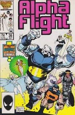 Alpha Flight Vol. 1 (1983-1994) (Comic Book) #36