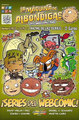 La máquina de albóndigas. Fanzine de las series (Grapa 32 pp) #3