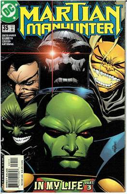 Martian Manhunter Vol. 2 (Grapa 24 pág.) #35
