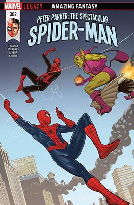 Peter Parker: The Spectacular Spider-Man (2017-2018) (Comic Book) #302