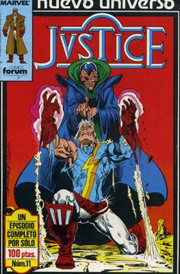Justice (1988-1989) (Grapa. 17x26. 24 páginas. Color.) #11