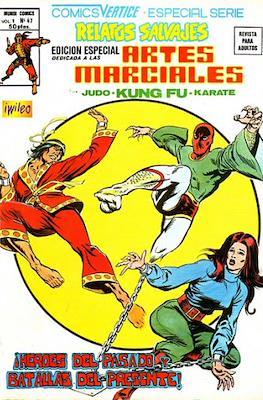 Relatos salvajes: Artes marciales Judo - Kárate - Kung Fu Vol. 1 (Rústica 52-68 pp. 1975-1979) #47