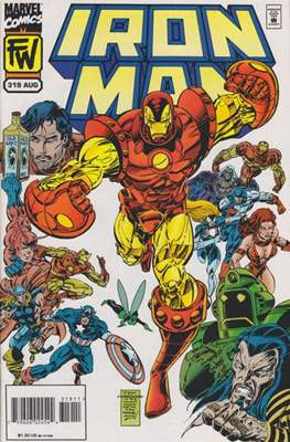 Iron Man Vol. 1 (1968-1996) (Comic book) #319
