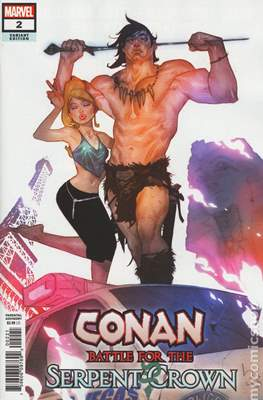 Conan: Battle for the Serpent Crown (Variant Cover) #2.1