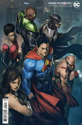 Crime Syndicate (2021 Variant Cover)