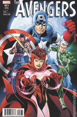 The Avengers Vol. 7 (2016-...Variant Covers ) (Grapa) #3.2