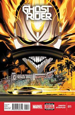 All New Ghost Rider (2014-) (Comic book) #11