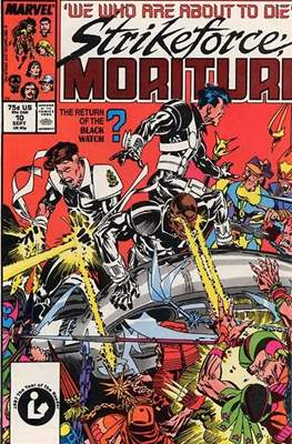 Strikeforce Morituri (Comic-book.) #10