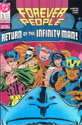 Forever People Vol 2: (1988) (Comic-book.) #5