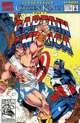 Captain America Vol. 1 Annual (1971-1994) (Comic Book) #11