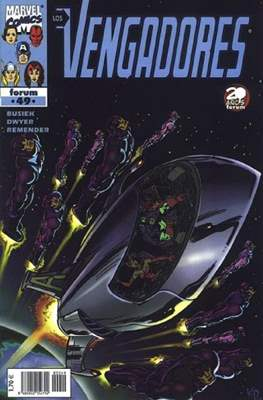 Los Vengadores vol. 3 (1998-2005) (Grapa. 17x26. 24 páginas. Color. (1998-2005).) #49