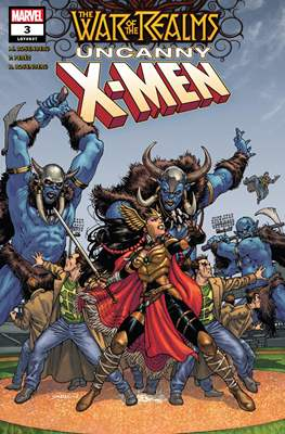 The War of the Realms: Uncanny X-Men (Comic Book) #3
