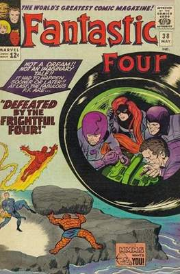Fantastic Four Vol. 1 (1961-1996) (saddle-stitched) #38