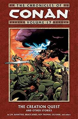The Chronicles of Conan the Barbarian (Paperback) #17